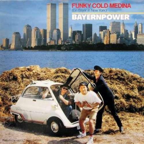 Cover Bayernpower - Funky Cold Medina (Ein Bayer In New York) (12) Schallplatten Ankauf