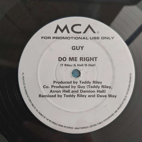 Cover Heavy D And The Boyz* / Guy - Do Me Right / Now That We Found Love (12, Promo) Schallplatten Ankauf