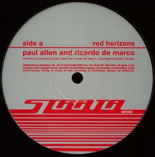 Bild Paul Allen & Ricardo De Marco - Red Horizons / The Terrace (12) Schallplatten Ankauf