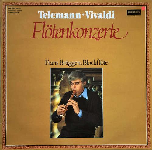 Cover zu Telemann* • Vivaldi* / Frans Brüggen - Flötenkonzerte (LP, S/Edition) Schallplatten Ankauf