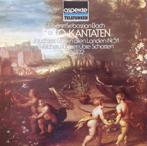 Bild Johann Sebastian Bach - Solo-Kantaten (LP, Album) Schallplatten Ankauf