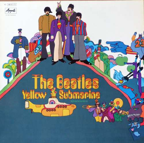 Cover The Beatles - Yellow Submarine (LP, Album, RE) Schallplatten Ankauf