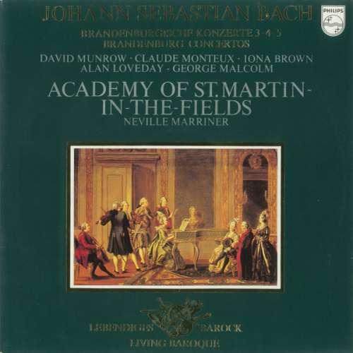 Bild Johann Sebastian Bach - Academy Of St. Martin-in-the-Fields* / Neville Marriner* - Brandenburgische Konzerte 3-4-5 (LP) Schallplatten Ankauf