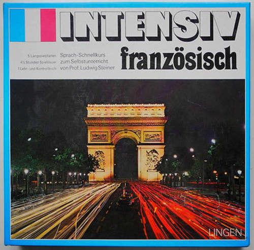 Cover Prof. Ludwig Steiner* - Intensiv Französisch (5xLP + Box) Schallplatten Ankauf