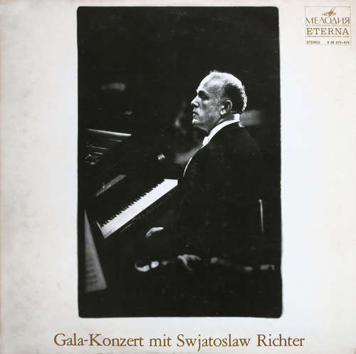 Bild Swjatoslaw Richter* - Gala-Konzert Mit Swjatoslaw Richter (2xLP, Comp) Schallplatten Ankauf