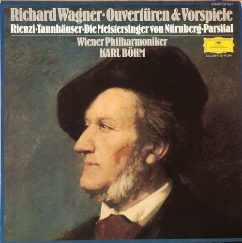 Cover zu Richard Wagner - Ouvertüren & Vorspiele (LP, Comp, Club) Schallplatten Ankauf