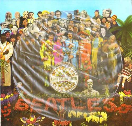 Cover The Beatles - Sgt. Pepper's Lonely Hearts Club Band (LP, Album, Pic) Schallplatten Ankauf