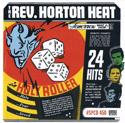 Cover The Rev. Horton Heat* - Holy Roller (CD, Comp) Schallplatten Ankauf