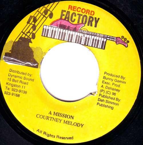 Bild Courtney Melody - A Mission (7) Schallplatten Ankauf