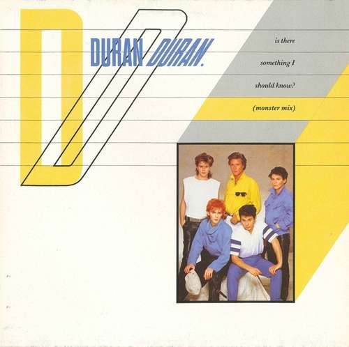 Cover Duran Duran - Is There Something I Should Know? (Monster Mix) (12) Schallplatten Ankauf