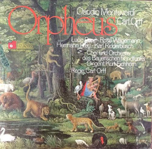 Cover zu Carl Orff, Hermann Prey, Rose Wagemann, Lucia Popp, Karl Ridderbusch -  Orpheus (LP, Club) Schallplatten Ankauf