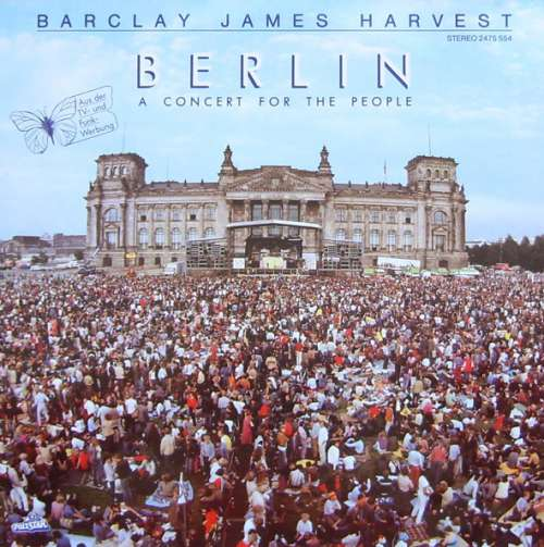 Cover Barclay James Harvest - Berlin - A Concert For The People (LP, Album) Schallplatten Ankauf