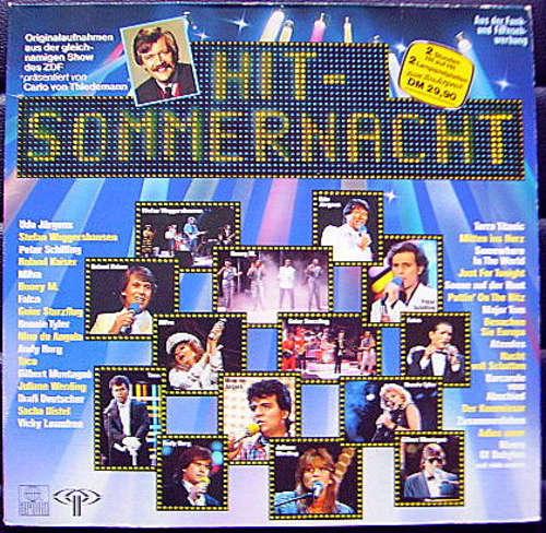 Cover Various - Hit-Sommernacht (2xLP, Comp, Gat) Schallplatten Ankauf