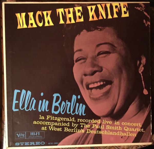 Cover Ella Fitzgerald - Mack The Knife - Ella In Berlin (LP, Album, RP) Schallplatten Ankauf