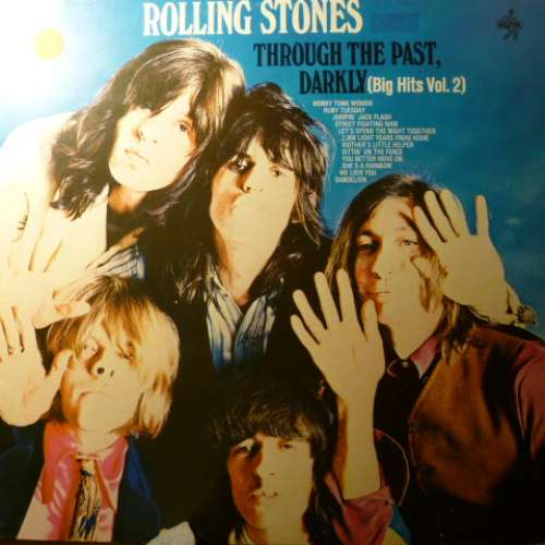 Cover Rolling Stones, The - Through The Past, Darkly (Big Hits Vol. 2) (LP, Comp, RE) Schallplatten Ankauf