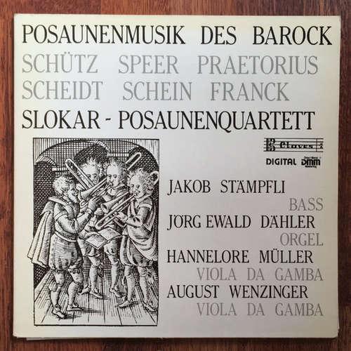 Bild Schütz*, Speer*, Praetorius*, Scheidt*, Franck*, Slokar Posaunenquartett - Posaunenmusik Des Deutschen Barock (LP) Schallplatten Ankauf