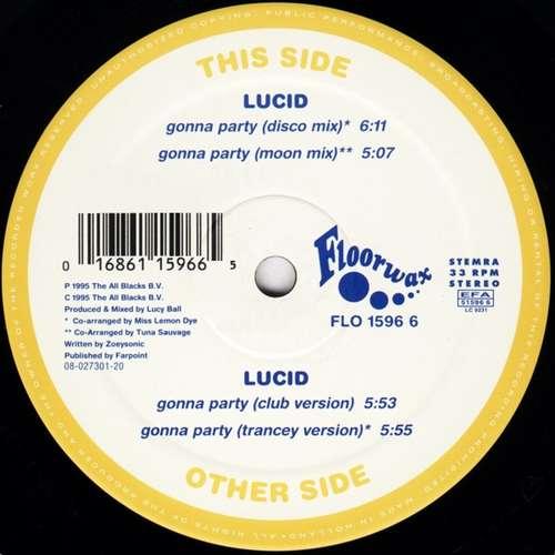 Bild Lucid - Gonna Party (12) Schallplatten Ankauf