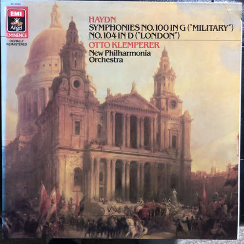 Bild Haydn* / Otto Klemperer / The New Philharmonia Orchestra* - Symphony No. 104 In D (London) / Symphony No. 100 In G (Military) (LP) Schallplatten Ankauf