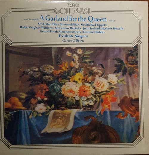 Cover Exultate Singers, Garrett O'Brien - A Garland For The Queen (LP) Schallplatten Ankauf