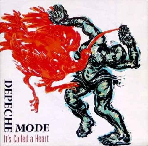 Cover Depeche Mode - It's Called A Heart (7, Single, Pos) Schallplatten Ankauf