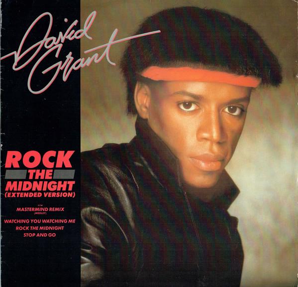 Bild David Grant - Rock The Midnight (12) Schallplatten Ankauf