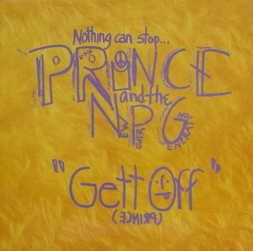 Cover Prince And The New Power Generation - Gett Off (12) Schallplatten Ankauf