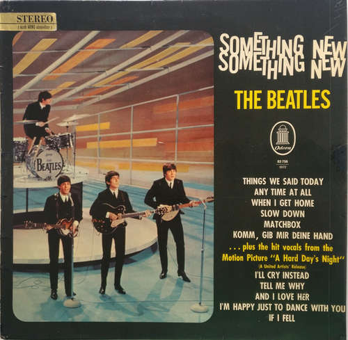 Cover The Beatles - Something New (LP, Album) Schallplatten Ankauf
