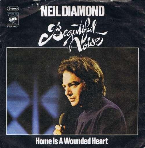 Cover Neil Diamond - Beautiful Noise (7, Single) Schallplatten Ankauf