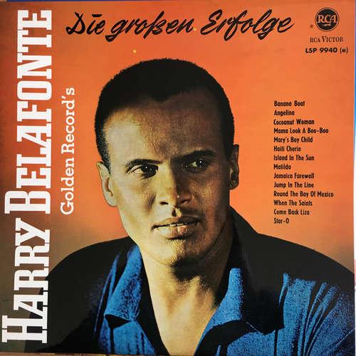 Cover Harry Belafonte - Die Großen Erfolge - Golden Records (LP, Comp) Schallplatten Ankauf