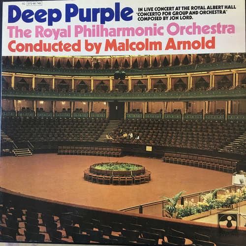 Bild Deep Purple, The Royal Philharmonic Orchestra Conducted By Malcolm Arnold - Concerto For Group And Orchestra (LP, Album, RP) Schallplatten Ankauf