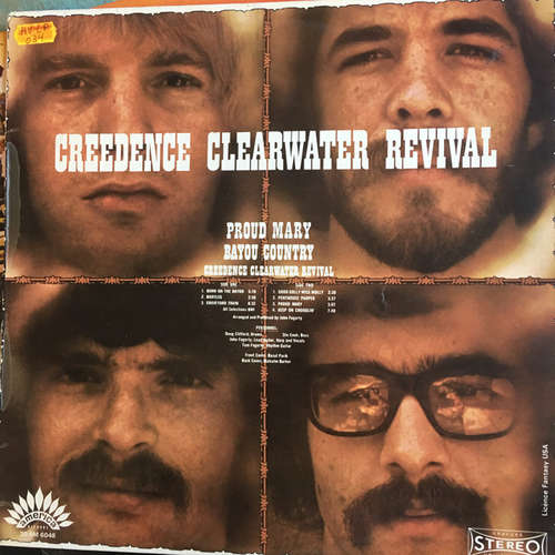 Cover zu Creedence Clearwater Revival - Proud Mary / Bayou Country (LP, Album) Schallplatten Ankauf