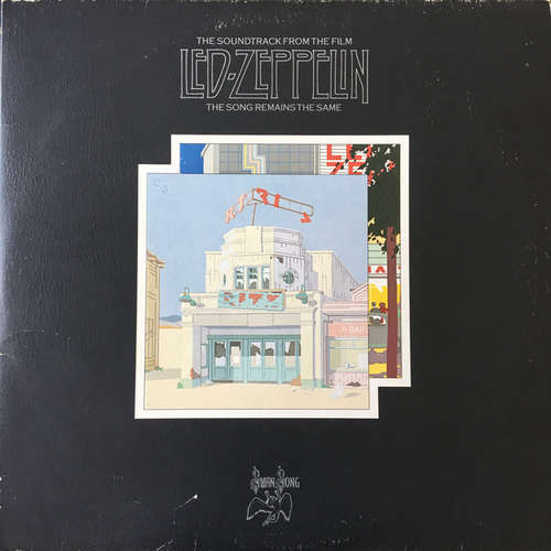 Cover zu Led Zeppelin - The Soundtrack From The Film The Song Remains The Same (2xLP, Album) Schallplatten Ankauf