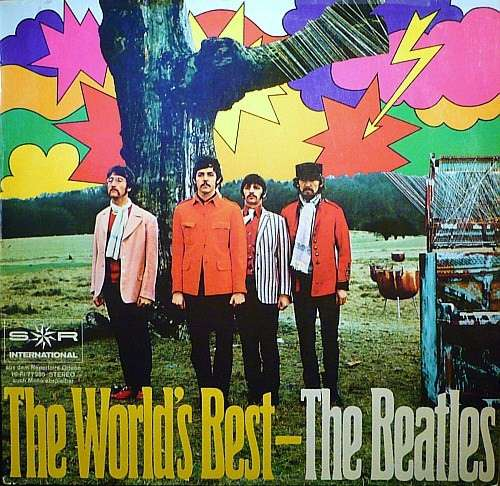 Cover The Beatles - The World's Best (LP, Comp, RP) Schallplatten Ankauf