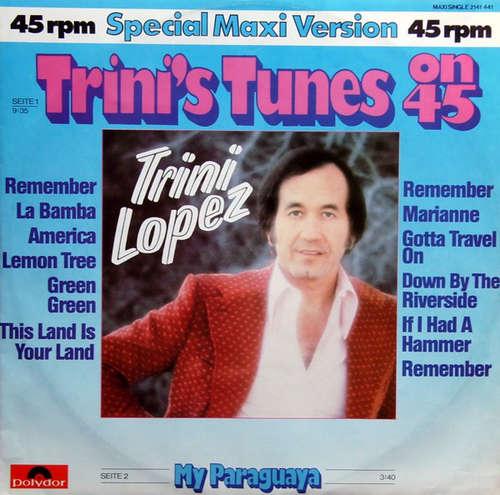 Bild Trini Lopez - Trini's Tunes (12, Maxi) Schallplatten Ankauf