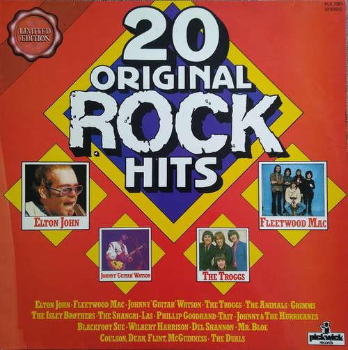 Cover Various - 20 Original Rock Hits (LP, Comp, Mono, Ltd, Fre) Schallplatten Ankauf