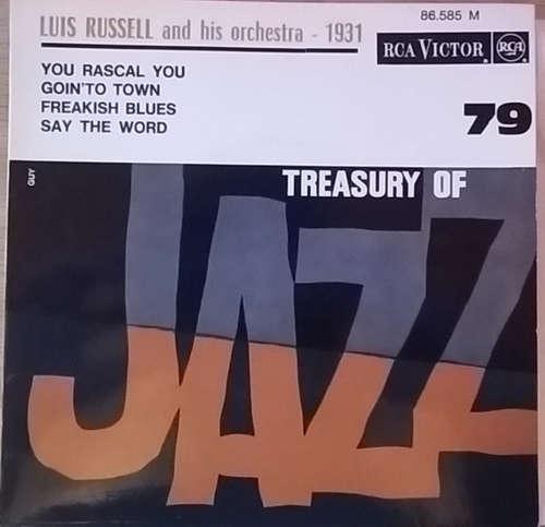 Bild Luis Russell And His Orchestra - Treasury Of Jazz No. 79 (7, EP) Schallplatten Ankauf