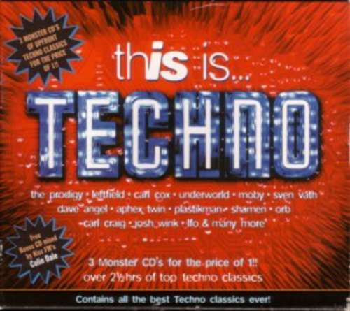 Cover Various - This Is... Techno (2xCD, Comp + CD, Mixed + Box) Schallplatten Ankauf
