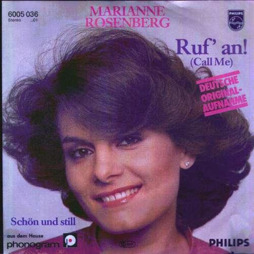 Cover zu Marianne Rosenberg - Ruf' An! (Call Me) (7, Single) Schallplatten Ankauf