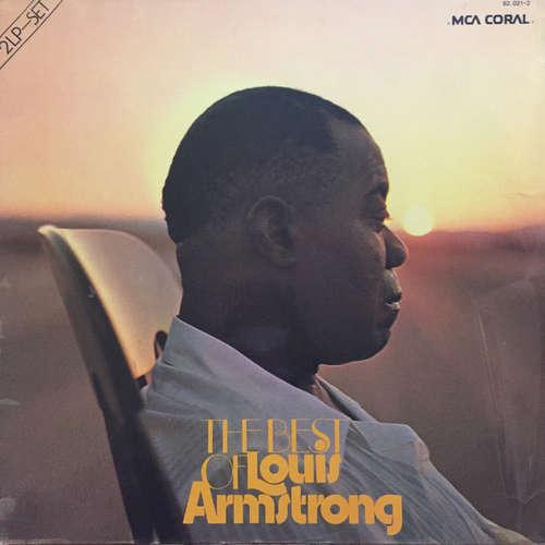 Cover zu Louis Armstrong - The Best Of Louis Armstrong (2xLP, Comp, RE, Gat) Schallplatten Ankauf