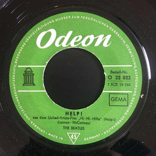 Cover The Beatles - Help! (7, Single, Mono) Schallplatten Ankauf