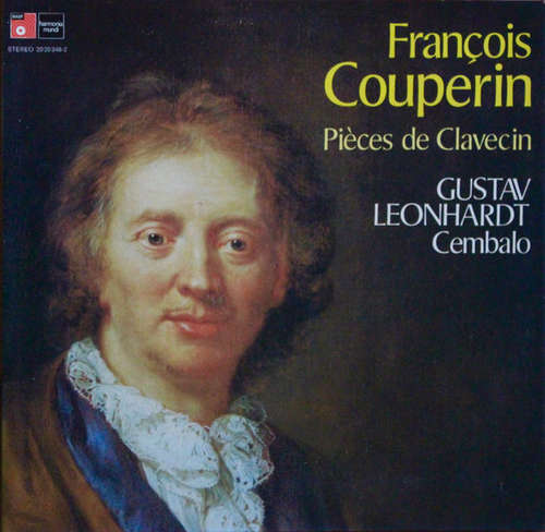Cover zu François Couperin, Gustav Leonhardt - Pieces de Clavecin (LP) Schallplatten Ankauf
