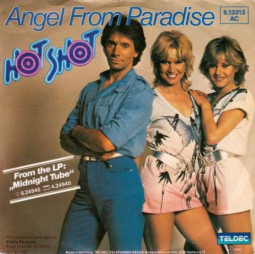 Cover zu Hot Shot (2) - Angel From Paradise (7, Single) Schallplatten Ankauf