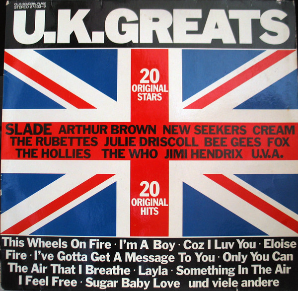Cover Various - U.K.Greats (LP, Comp, Club) Schallplatten Ankauf