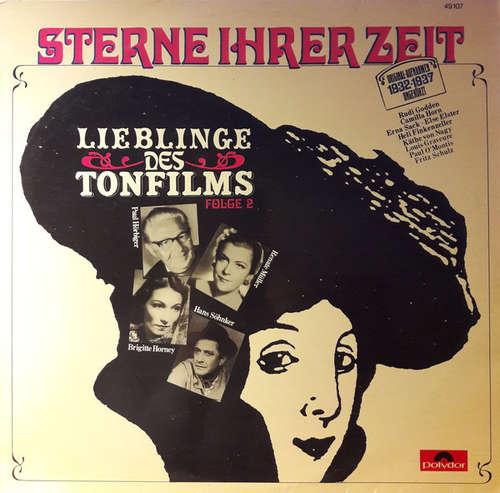 Bild Various - Sterne Ihrer Zeit - Lieblinge Des Tonfilms Folge 2 (LP, Comp) Schallplatten Ankauf