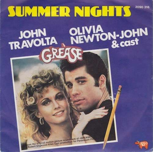 Bild John Travolta & Olivia Newton-John / Louis St. Louis - Summer Nights / Rock 'n' Roll Party Queen (7, Single) Schallplatten Ankauf