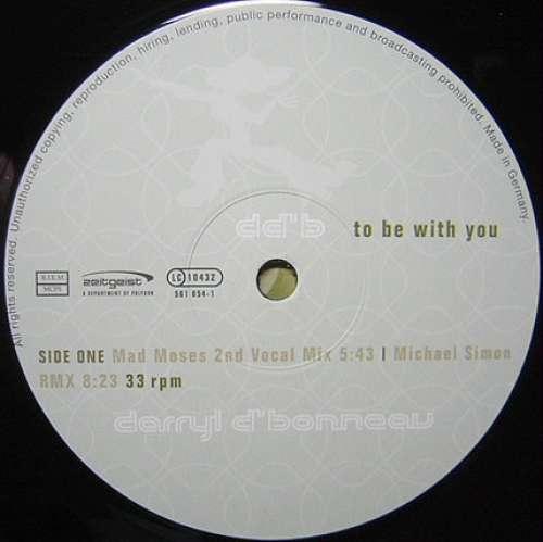 Bild Darryl D'Bonneau - To Be With You (2x12) Schallplatten Ankauf