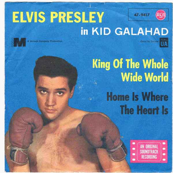Cover Elvis Presley - King Of The Whole Wide World (7, Single) Schallplatten Ankauf