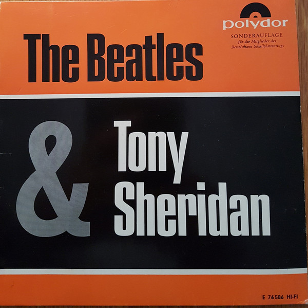 Cover The Beatles With Tony Sheridan - The Beatles With Tony Sheridan (7, EP, Club, RE) Schallplatten Ankauf