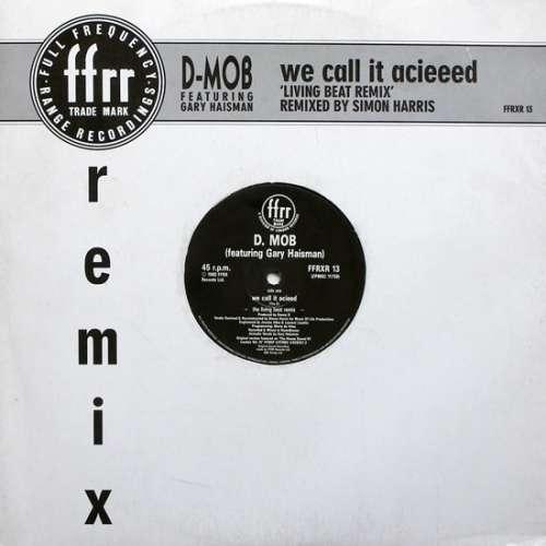 Bild D-Mob* Featuring Gary Haisman - We Call It Acieeed 'Living Beat Remix' (12) Schallplatten Ankauf