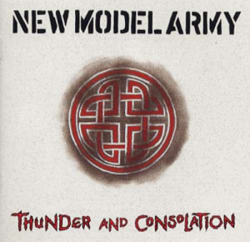 Cover New Model Army - Thunder And Consolation (LP, Album) Schallplatten Ankauf